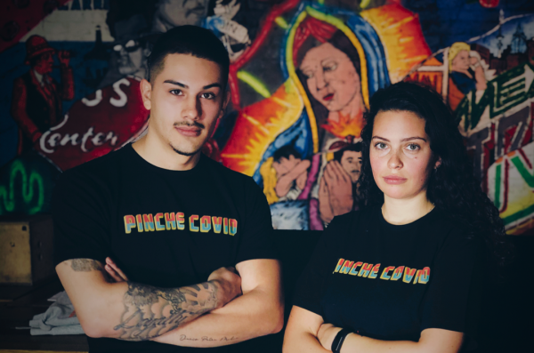 "Unisex T-Shirt ""Pinche Covid"""